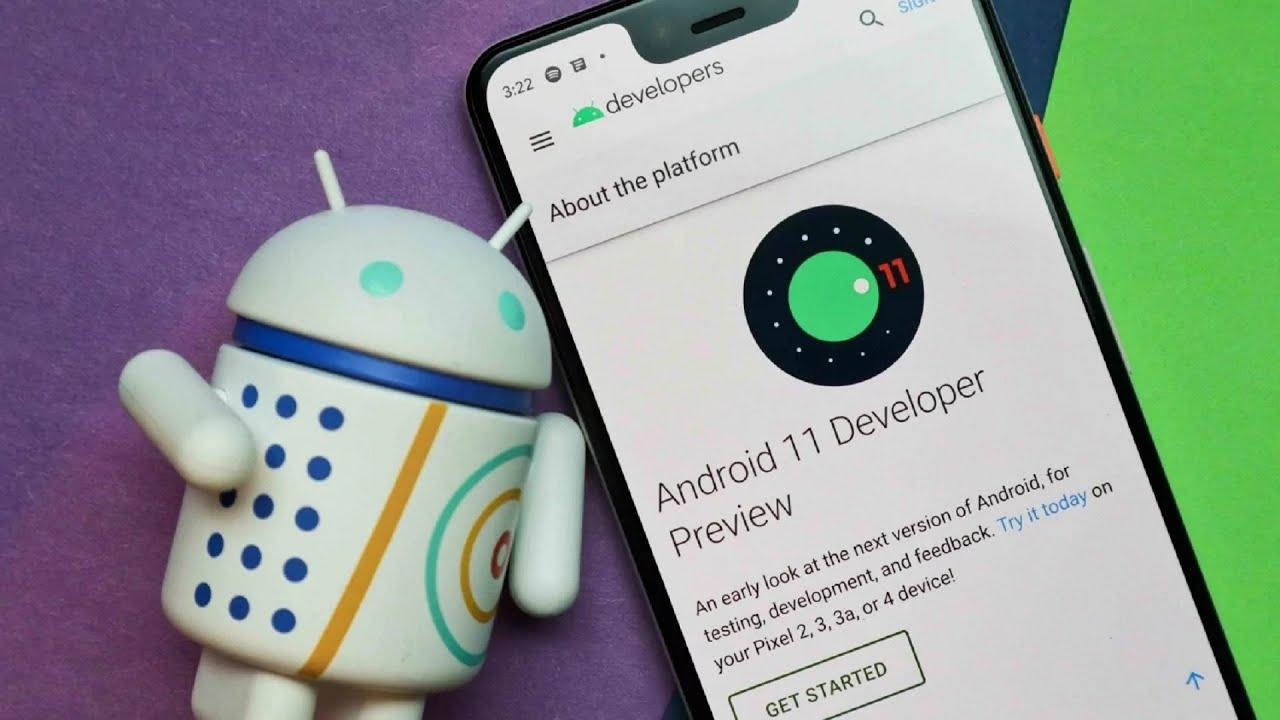бета-версия Android 11