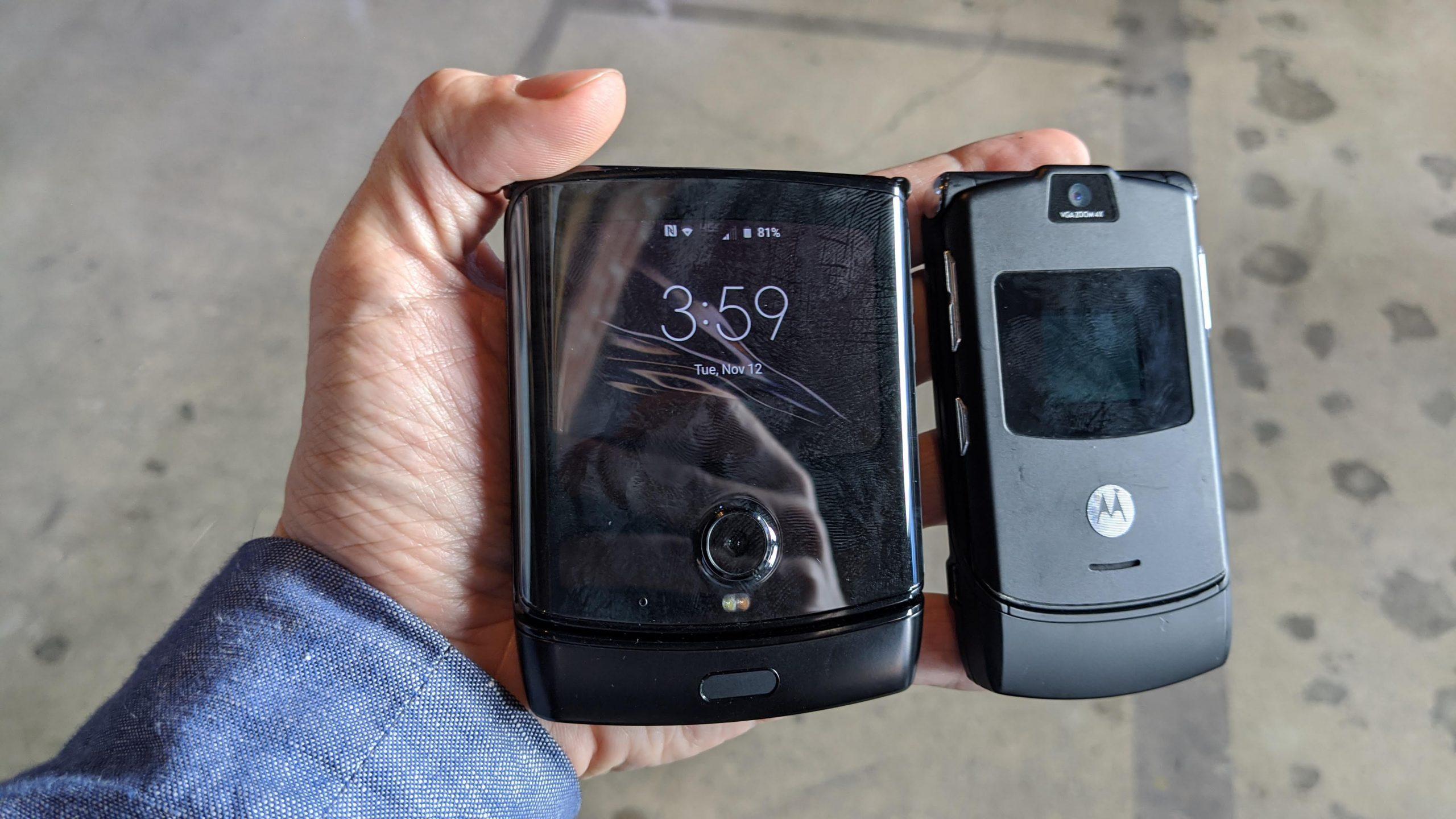 Moto Razr и Motorola RAZR V3