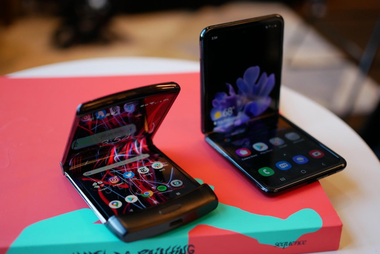 Samsung Galaxy Z Flip или Moto RAZR