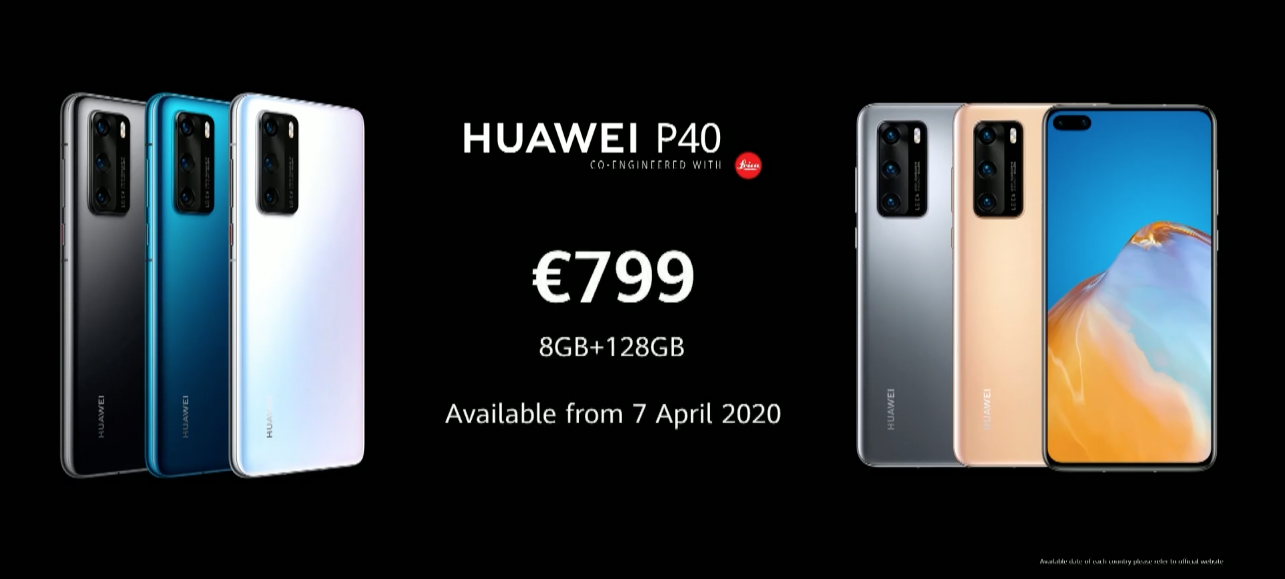 Цена Huawei P40