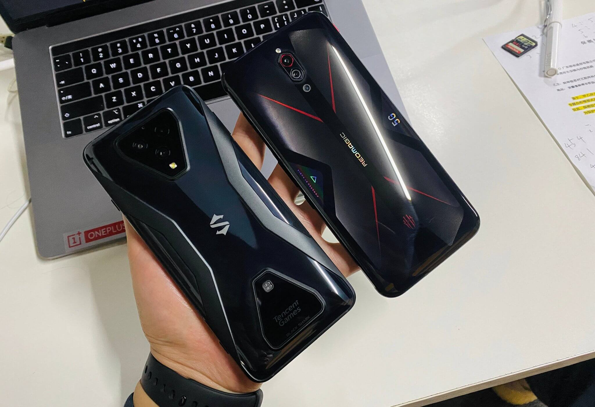 Xiaomi Black Shark 3 Pro и Nubia Red Magic 5G