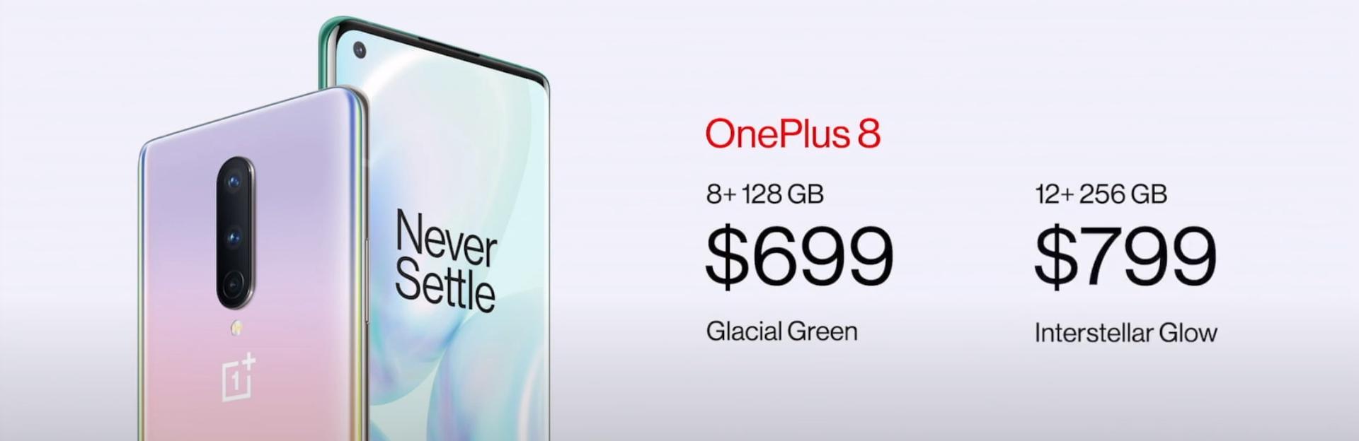 цена OnePlus 8