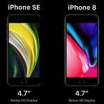 iPhone SE 2020 и iPhone 8