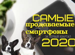 самые продаваемые смартфоны 2020 года