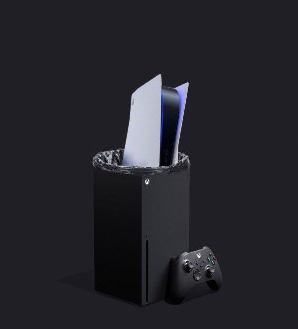 мемы про PlayStation 5 и Xbox