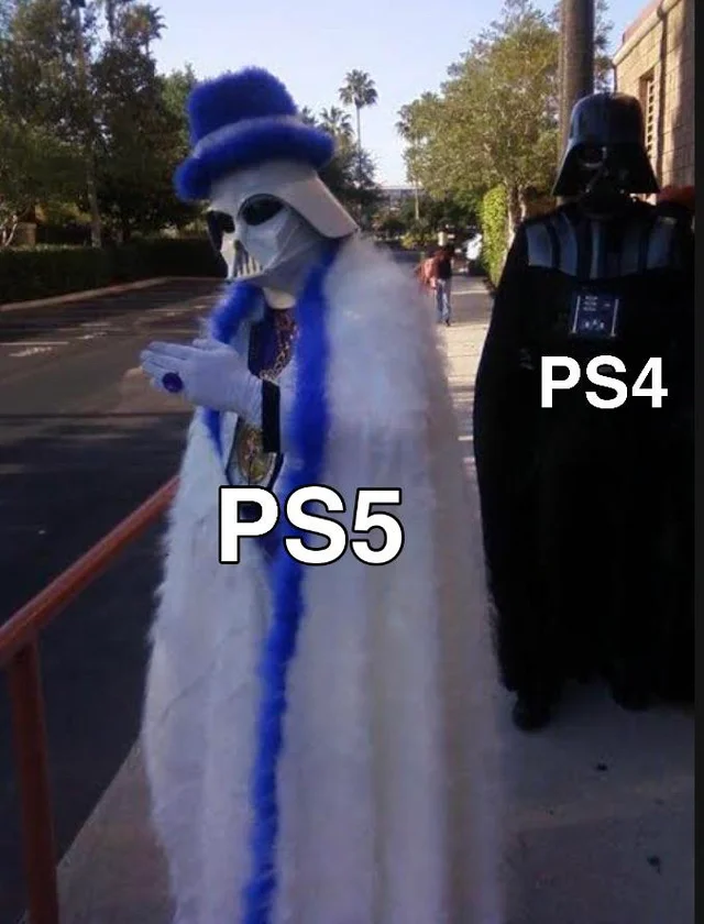 мемы про PlayStation 5