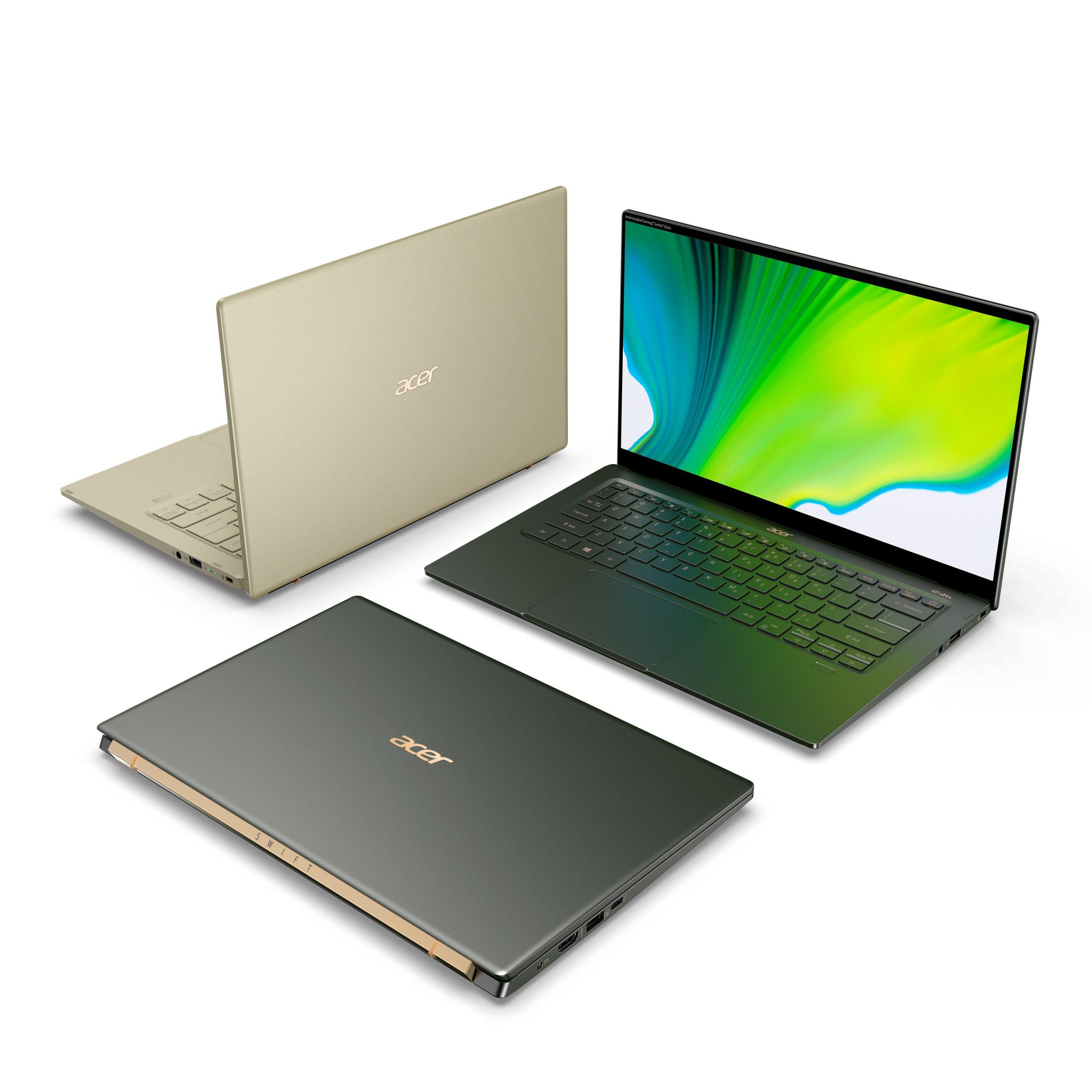 новые ноутбуки Acer 2020