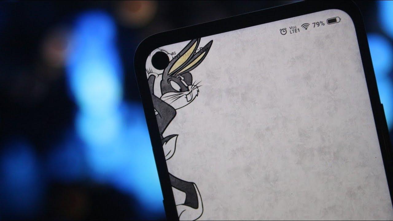 оригинальные обои для выреза в экране слева