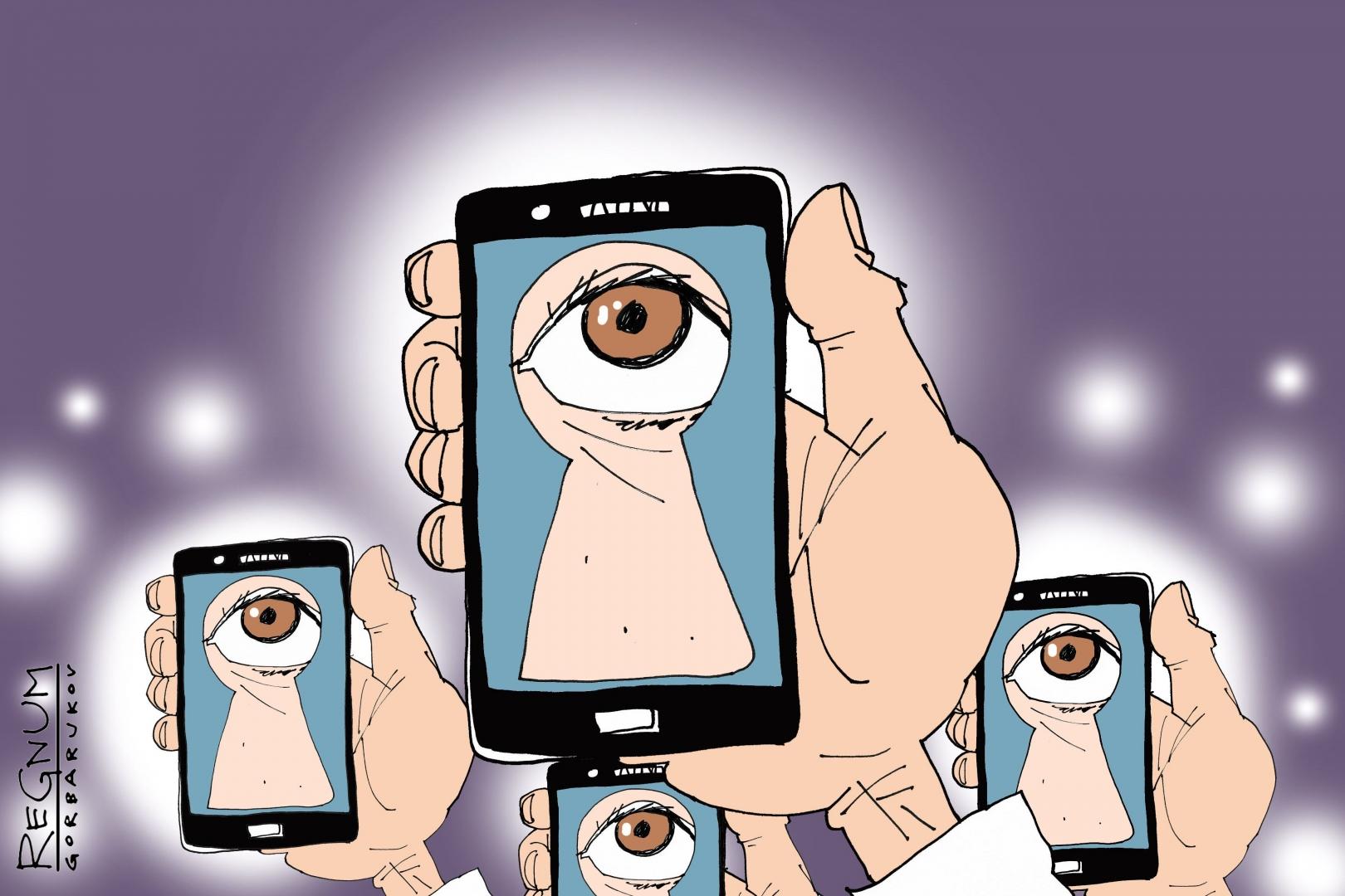 Шпионящие приложения, которые следят за Вами