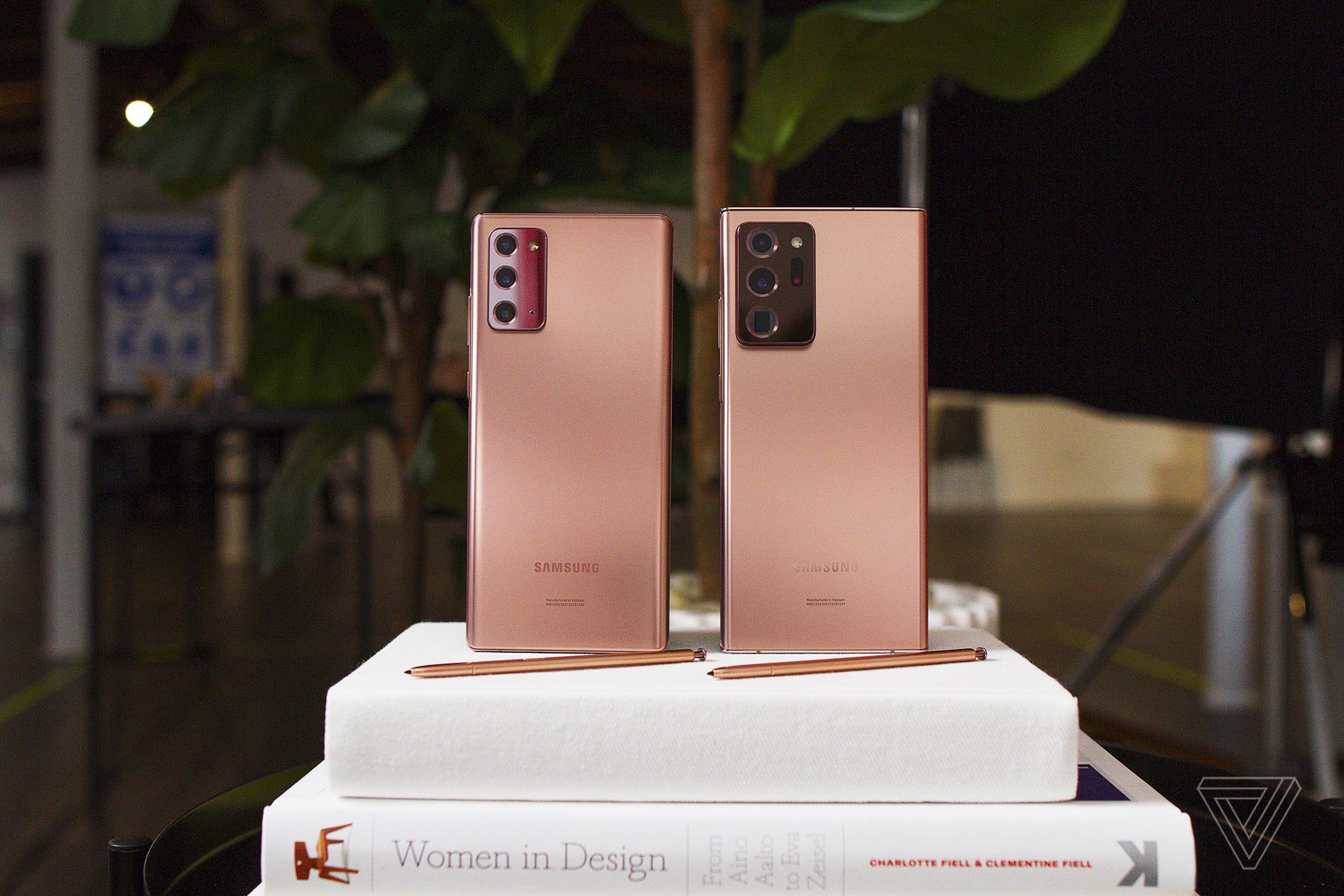Samsung Galaxy Note 20 и Samsung Galaxy Note 20 Ultra