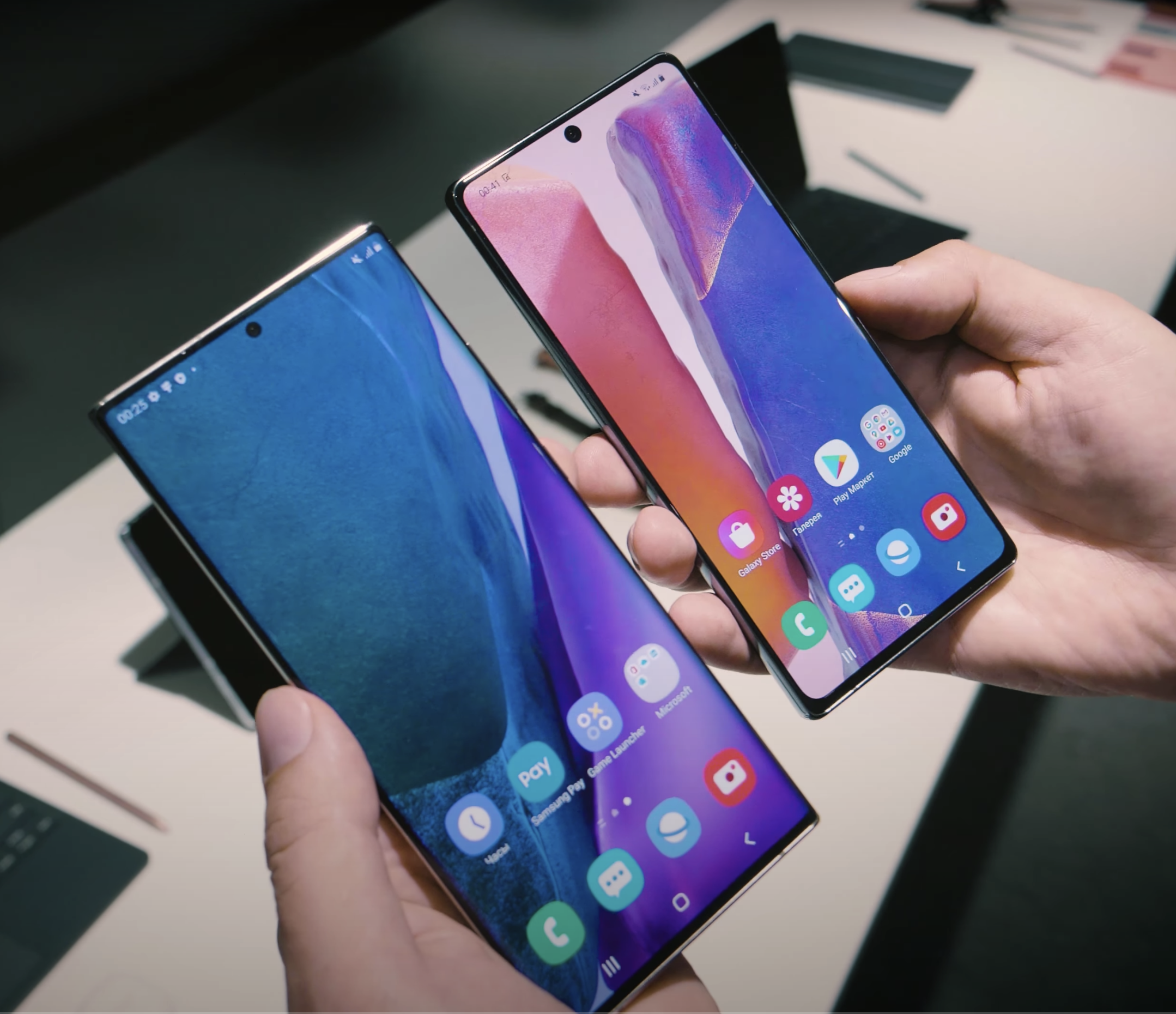 Samsung Galaxy Note 20 Ultra и Galaxy Note 20