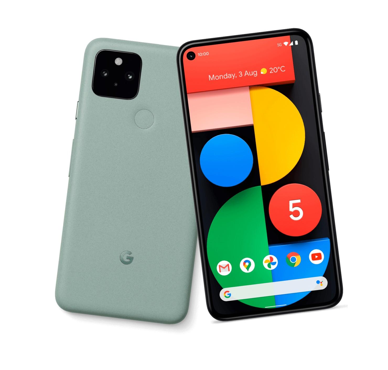 смартфоны Pixel 5