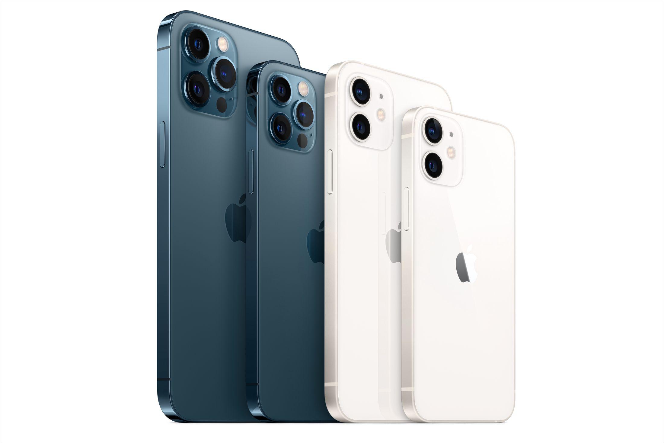 iPhone 12 2020 series