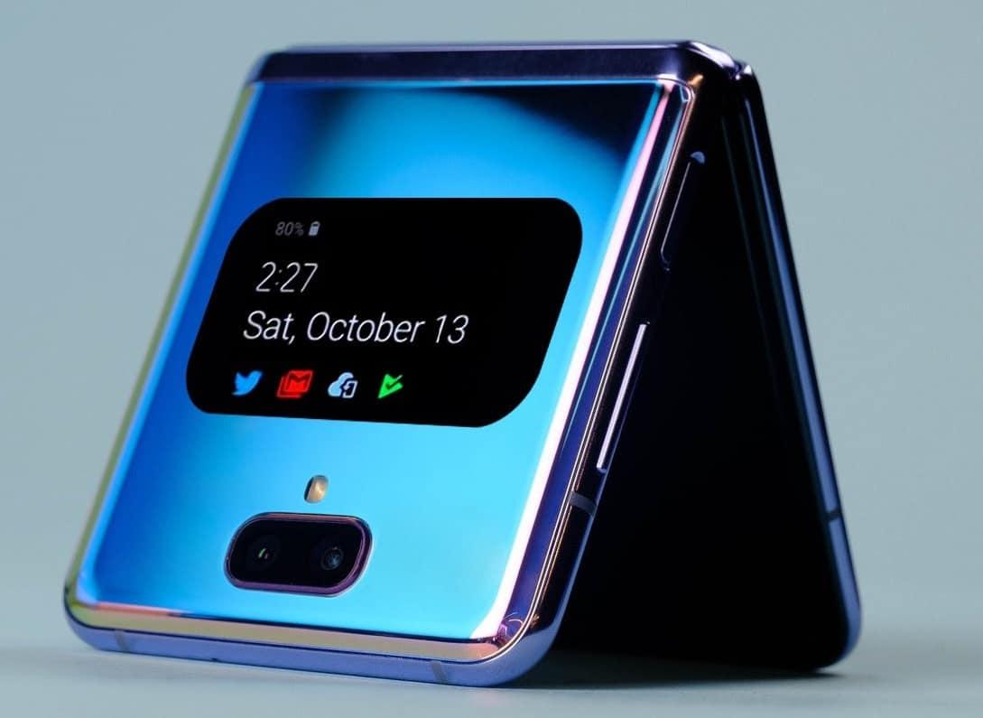 Samsung Galaxy Z Flip 2 concept