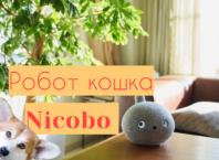 интерактивный робот кошка