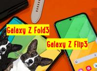 Galaxy Z Fold3 и Galaxy Z Flip3