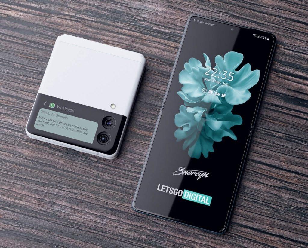 смартфон раскладной с гибким экраном 2021