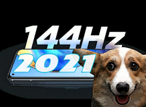 смартфоны с экраном 144 Гц 2021